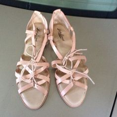 Flats Flats, worn once, new Lucky Brand Shoes Flats & Loafers