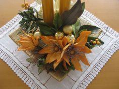 cold porcelain flower arrangement