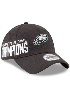 053b945f9 New Era Philadelphia Eagles Mens Black 2018 SB LII Champion Parade 9TWENTY  Adjustable Hat. Rally House · Eagles Super Bowl Champions