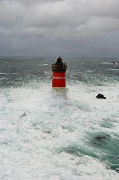Lighthouses of Iroise.  Phare des Pierres Noires.Le Conquet, Finistère   Brittany    -   by  boisecq erwan