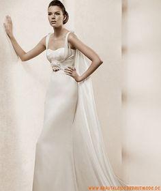 2013 Maßgeschneiderte elegante Brautmode aus Satin