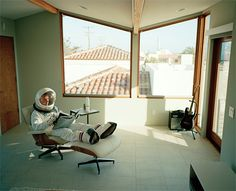 Astronaut Photos by Cole Barash   Inspiration Grid   Design Inspiration