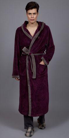 Men's Robe Polar fleece 1758 Mens Pjs, Men's Robes, Polar Fleece, Pyjamas, Moose, Christmas Gifts, Collection, Google Search, Luxury