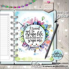 Planner Insert, Printable Planner Insert, Planner Divider, Planner Quotes, Erin Condren, Planner Dashboard, Kawaii Planner, Divider Kawaii