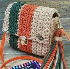 De Croche De Croche barbante De Croche com grafico De Croche de mao De Croche festa - Bolsa De Crochê Crochet Bag Tutorials, Crochet Crafts, Crochet Projects, Crochet Handbags, Crochet Purses, Crochet Clutch Bags, Free Crochet Bag, Knit Crochet, Crochet Designs