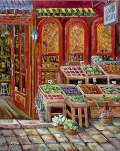 Fruit Market ~ Ginger Cook