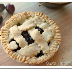 Mini Cherry Pie- Sugar Free and Sweet as Can Be!