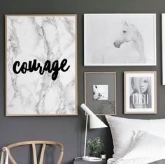 """Motivational Quote Poster """"Courage"""" Home Office Dorm Decor [UNFRAMED] ABOUT THIS ITEM This item is a Shipped Art Print which makes a great addition to any wall art gallery. This print could also be us"""