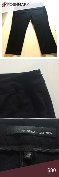 Amanda and Chelsea Straight Leg Trousers Amanda and Chelsea straight leg Trousers with Side Zipper found at Nordstrom. Amanda and Chelsea Pants Straight Leg
