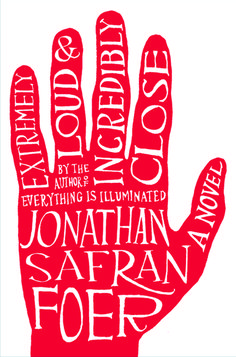 Extreamly Loud and Incredibly Close, A novel, book cover design