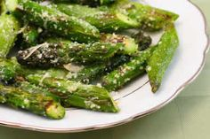 Grilled Asparagus with Parmesan