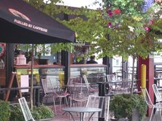 Exterior front entrance of Lonsdale Quay Market with coffee shop and outdoor seating. Outdoor Seating, Outdoor Decor, North Vancouver, Front Entrances, Coffee Shop, Exterior, Marketing, Shopping, Ideas