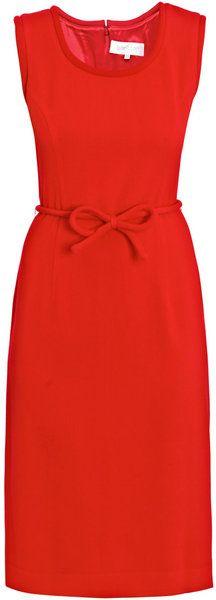 Goat Olivia Wool-crepe Dress