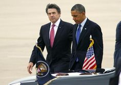Rick Perry Rejects Obama's Offer to Shake His Hand on the Tarmac — Here's the Texas Governor's Counteroffer