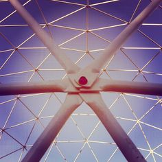 From @2lookn2see #Instagram #dome #geodome #geodesic #gdi #work #conection