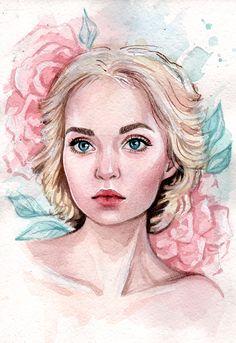 Portrait by BlackFurya.deviantart.com on @DeviantArt