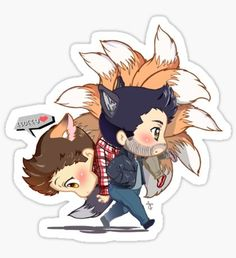 (Happily) Carry Him Away Sticker
