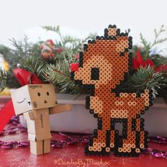 Danbo has met Rudolf today. Rudolf enjoys his vacations after Christmas work ^_^