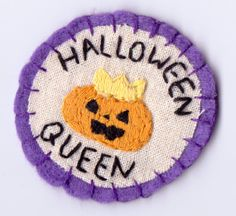 Halloween Queen Patch.. or maybe this one
