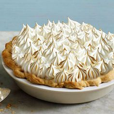 This luscious pumpkin pie recipe features fluffy meringue atop a rich caramel-pumpkin filling: http://www.bhg.com/recipes/desserts/pies/pumpkin/pumpkin-pie-recipes/?socsrc=bhgpin092914caramelcreampumpkinpie&page=14