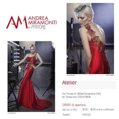 Andrea Miramonti by Pastore Collection 2015 -Red Cocktail Party Dress #couture #fashion #couturedress #cocktaildress #partydress #eveningdress www.pastore.it