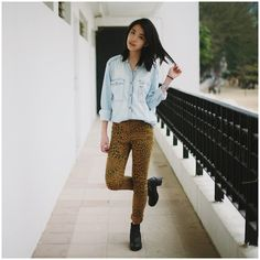 Cheap Monday Jeans, Asos Boots, 7 For All Mankind Denim Shirt
