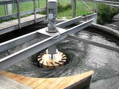 the first hydro power plant which generates electricity, aquatic plants, microbe and fishes New Energy, Water Energy, Solar Energy, Alternative Energie, Water Turbine, Wind Turbine, Water Powers, Sustainable Energy, Natural Energy