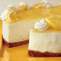 Lemon Curd Mousse Cake by Bon Appétit