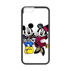 Halloween Mickey And Minnie Case for iPhone 6