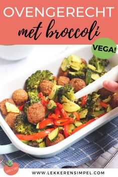 Oven dish with broccoli, zucchini and bell pepper - Delicious and Simple - Oven dish with broccoli, zucchini and bell pepper – Delicious and Simple - Zucchini, Oven Dishes, Green Bean Recipes, Blueberry Recipes, Cajun Recipes, Oatmeal Recipes, Easy Cooking, No Cook Meals, Vegetarian Recipes