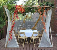 This is such a cool sukkah!