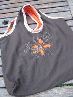 Love Laugh Quilt: t-shirt bag