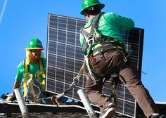 Solar City leads the way to a fossil fuel free future! See http://www.slate.com/articles/business/the_juice/2015/07/solarcity_the_company_didn_t_invent_the_solar_panel_but_it_invented_something.html