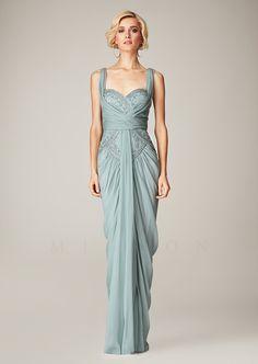 Mignon - VM1162 - Spring Dresses 2014, Homecoming Dresses, Prom Dresses, Bridesmaid Dresses, Party Dresses - blue dress