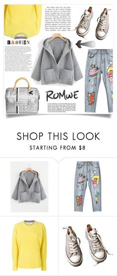 """""""Like 80's"""" by krista-zou on Polyvore featuring Victoria, Victoria Beckham, Converse and Louis Vuitton"""
