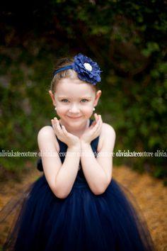etsy flower girl dress, navy flower girl dress, wedding ideas, navy weddings, flower girl ideas, something blue, oliviakate.com