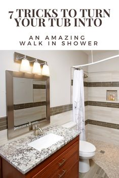 Check out these top 7 tips and tricks to turn into a walk in shower. You wont r 2019 Check out these top 7 tips and tricks to turn into a walk in shower. You wont regret this! Master Bathroom Shower, Diy Shower, Bathroom Layout, Shower Tub, Diy Bathroom Remodel, Shower Remodel, Budget Bathroom, Bathroom Remodeling, Bathroom Ideas
