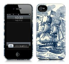 Cartolina iPhone case - Ship CASE415/515