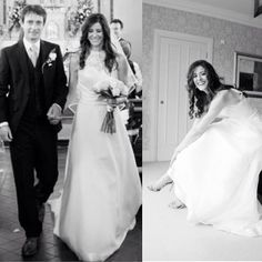 #brideoftheday Today we have the gorgeous Lydia Doyle ! We love these photos that Lydia sent in to us ! It really shows us one very happy bride ! Here's what Lydia had you say !  Dear Edel,  Here are some photos of the beautiful day in the beautiful dress.... The service you provided was five star! Your attention to detail, and customer care made the entire process of choosing the right dress very special. You treated me as an individual, and tailored the dress to suite me! A bespoke dress… Beautiful Day, Beautiful Dresses, Five Star, Our Love, Formal Dresses, Wedding Dresses, Bespoke, Brides, Detail