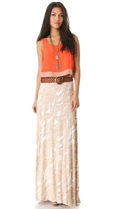 Rachel Pally Josefine Skirt.. super cute outfit