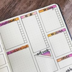 2-page weekly with separate to-do lists