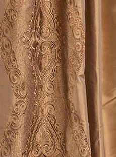 Chai Brown Gold Silk Swatch. Get unbeatable discount up to 80% Off at Half Price Drapes using Coupon and Promo Codes.
