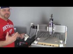 CNC Machine Control Using Mach3 - A Beginners Introduction #1 - YouTube