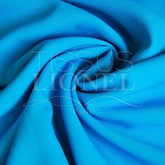 POLYESTER TOILLE UNI TURQUOISE, LARGEUR 150 CM, 100% POLYESTER