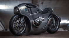 Zillers Garage, Moscow-based custom workshop has designed the BMW Motorrad, a post-apocalyptic steampunk-themed motorcycle based on BMW cruiser. Triumph Motorcycles, Concept Motorcycles, Indian Motorcycles, Custom Motorcycles, Custom Bikes, Motorcycle Design, Motorcycle Style, Bike Design, Bobber Motorcycle