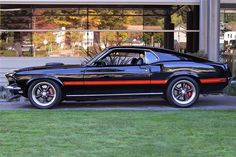 1969 Mustang Mach 1. Why buy new when you can find the original and make it your own!