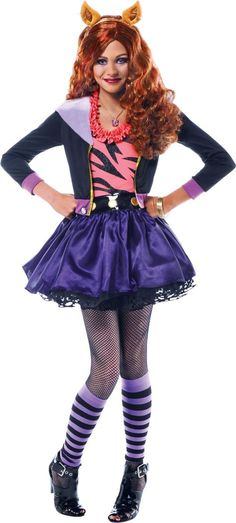 clawdeen wolf costume super cute monster high for girls on halloween girls halloween costumes pinterest wolf costume monster high and wolf - Wolf Costume Halloween