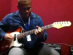 Blues/funk Guitar Lesson with Kirk Fletcher -- Comping Chords - YouTube