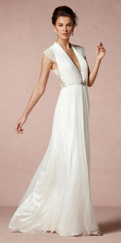BHLDN Catherine Deane Ortensia Gown : buy this dress for a fraction of the salon price on PreOwnedWeddingDresses.com
