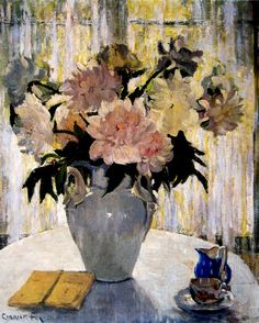 Peonies - Ethel Carrick Fox